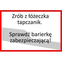 Piętrus Barierka Biała -...