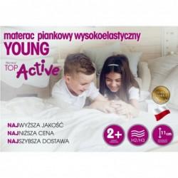 Materac z lateksem Hevea Baby Max  Pokrowiec-Aegis Natural Care Rozmiar-120/60